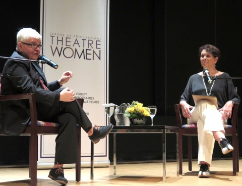 Paula Vogel, Linda Winer, NYPL for the Performing Arts at Lincoln Center, League of Professional Theatre Women, Paula Vogel in Conversation With Linda Winer