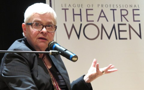 Paula Vogel, The New York Public Library for the Performing Arts at Lincoln Center, League of Professional Theatre Women, Paula Vogel in Conversation With Linda Winer, Betty Corwin, Pat Addiss, Sophia Romma