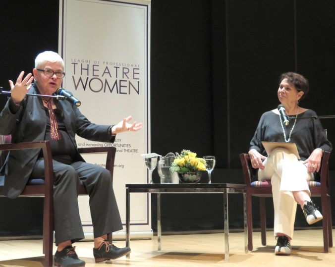 Paula Vogel, LInda Winer, NYPL for the Performing Arts at Lincoln Center, 'Paula Vogel in Conversation With Linda Winer, League of Professional Theatre Women