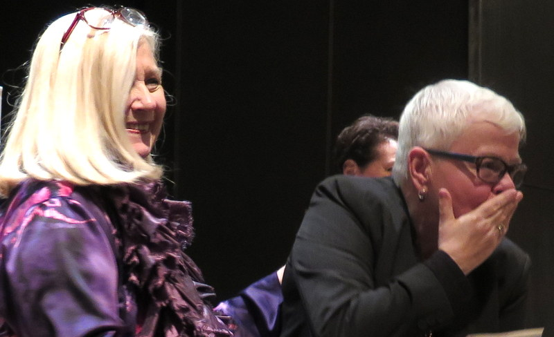 Pat Addiss, Paula Vogel, 'Paula Vogel in Conversation With Linda Winer, NYPL for the Performing Arts at Lincoln Center, League of Professional Theatre Women