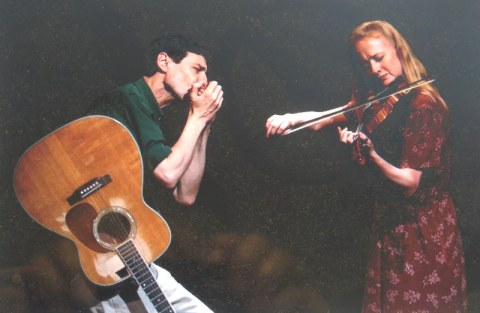 Irish Repertory Theatre, Woody Sez: The Life & Music of Woody Guthrie, Megan Loomis, David M. Lutken, Woody Guthrie