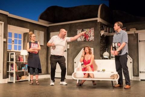 Emily Bowker, Graeme Grookes, Elizabeth Boag, Alastair Whatley, Invincible, 59E59 Theaters