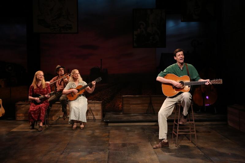 Megan Loomis, Andy Teirstein, Helen Jean Russell, David M. Lutken, Woody Sez: The Life & Music of Woody Guthrie, Irish Repertory Theatre