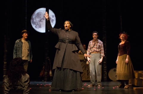 Soulpepper Theatre Company, Spoon River, Edgar Lee Masters, Albert Schwartz, Alana Bridgewater, Brendan Wall, Richard Lam, Mike Ross