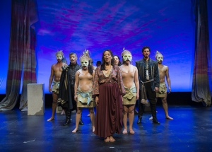 Danny Bolero, Lorraine Velez, Jacob Gutierrez, Temple of The Souls, NYMF, Lorca Peress