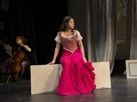 Noellia Hernandez, Temple of The Souls, NYMF, Lorca Peress