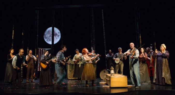 Spoon River Ensemble, Spoon River, Soulpepper Theatre Company, Albert Schwartz, Pershing Square Signature Center, Edgar Lee Masters