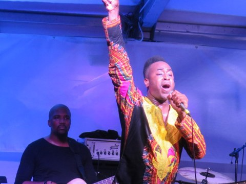 Damien Sneed, Jazz & Chihuly, Songs of Protest & Reconciliation, NYGB summer concert series