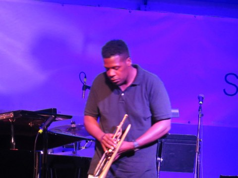 Keyon Harrold, Jazz & Chihuly, Songs of Protest & Reconciliation, New York Botanical Garden summer concert series