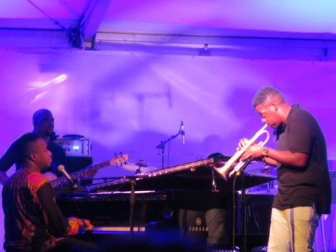 Damien Sneed, Keyon Harrold, Jazz & Chihuly, Songs of Protest & Reconciliation, NYBG summer concert series