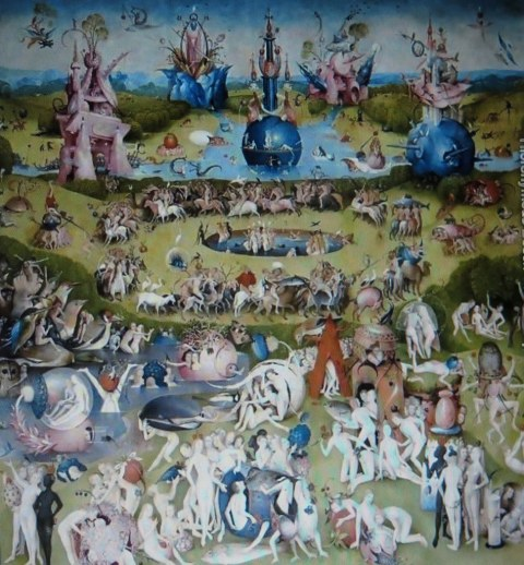 Hieronymous Bosch, Garden of Earthly Delight, panel #2