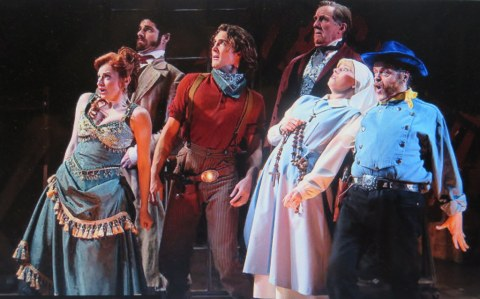 Nick Wyman, Peter Saide, Emma Degerstedt, Lauren Molina Conor Ryan, Gary Marachek, Desperate Measures, York Theatre Company, Peter Kellogg, David Friedman, Bill Castellino
