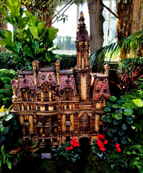 Paul Busse, Applied Imagination Senator William Clarke, Clarke's Folly, NYBG Holiday Train Show