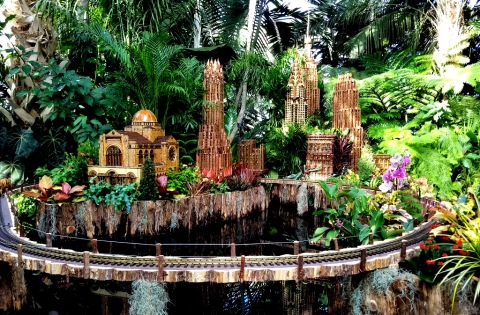 NYBG, Holiday Train Show, Applied Imagination