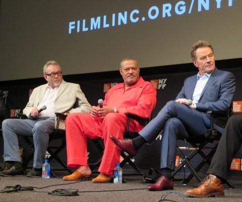 Last Flag Flying, Darryl Poniscan, Laurence Fishburne, Bryan Cranston, NYFF 2017