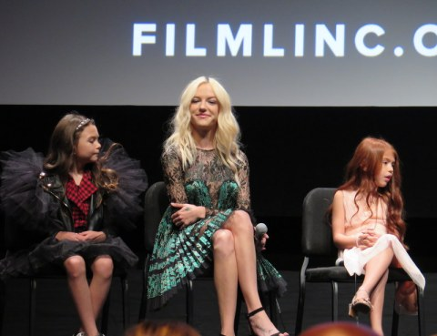 Brooklyn Prince, Bria Vinaite, Valeria Cotto, NYFF 2017, The Florida Project