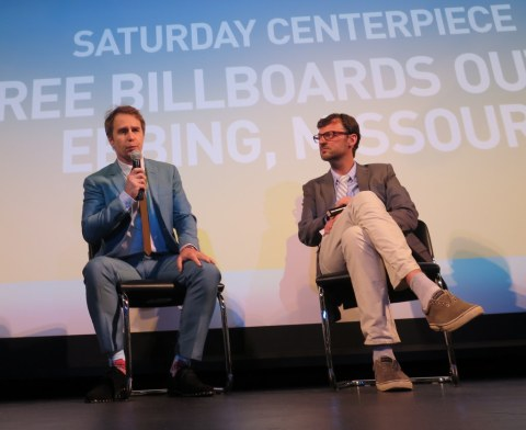 Sam Rockwell, David Nugent, HIFF 2017, Three Billboards Outside Ebbing Missouri