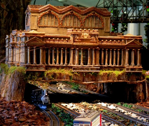Applied Imagination, Penn Station, NYBG Holiday Train Show