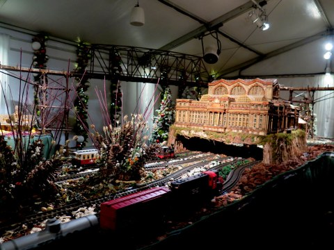 Old Penn Station, Br Car Nights, NYBG Holiday Train Show