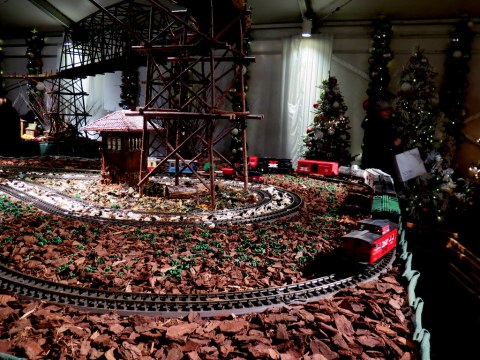 Bar Car Nights, NYBG Holiday Train Show