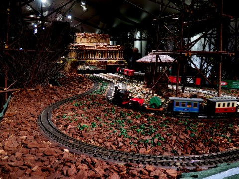 Bar Car Nights, Holiday Train Show, NYBG