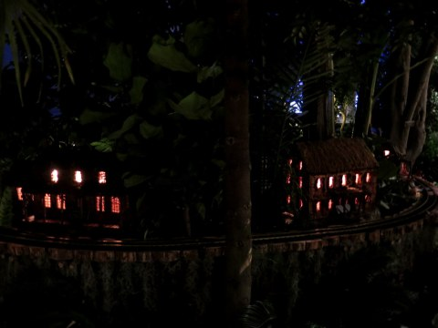 New York, Bar Car Nights, Holiday Train Show, NYBG