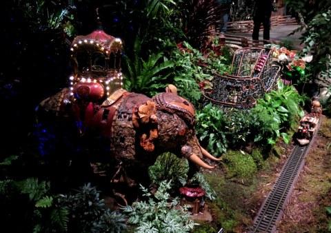 Elephant Colossus, Coney Island, Bar Car Nights, Holiday Train Show, NYBG