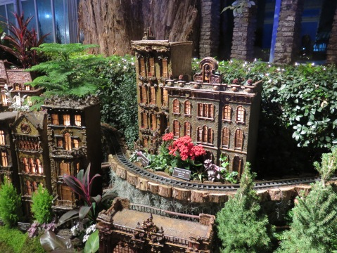 Bar Car Nights, NYBG Holiday Train Show, Applied Imagination