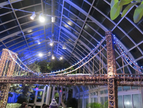 Applied Imagination, Bar Car Nights, NYBG Holiday Train Show
