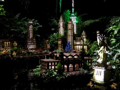 Ellis Island, Statue of Liberty, Bar Car Nights, NYBG Holiday Train Show