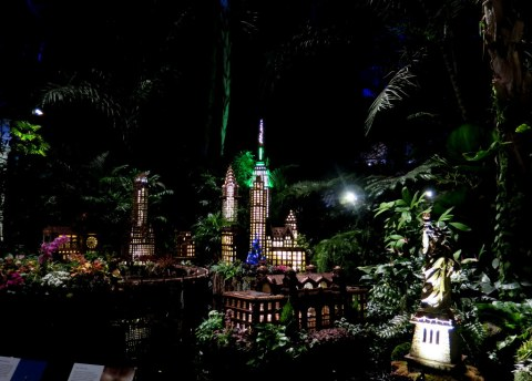 Bar Car Nights, NYBG Holiday Train Show, Applied Imagination