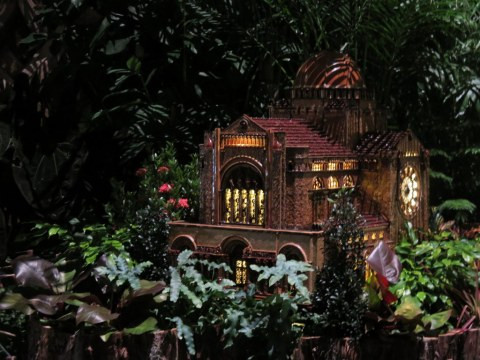 St. Bartholomews, Bar Car Nights, NYBG, Holiday Train Show, Applied Imagination, Paul Busse, Laura Busse Dolan