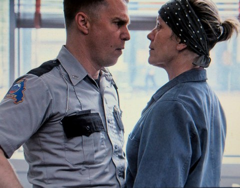 Sam Rockwell, Frances McDormand, Three Billboards Outside Ebbing, Missouri, Martin McDonagh