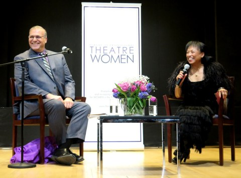 Baayork Lee, Robert Viagas, League of Professional Theatre Women, nYPL for the Performing Arts at Lincoln Center