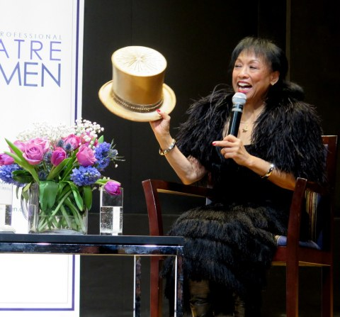 Baayork Lee, Robert Viagas, NYPL for the Performing Arts at Lincoln Center, League of Professional Theatre Women