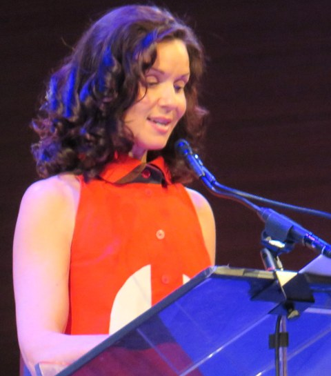 Florencia Lozano, LPTW Awards Host, TIMESCENTER