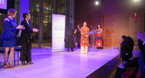 Phylicia Rashad, LPTW Theatre Women Awards, TIMESCENTER, Lifetime Achievement Award