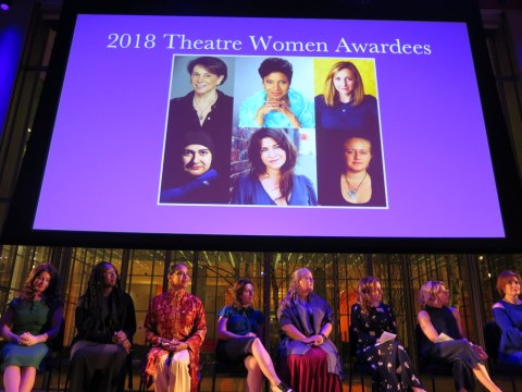 League of Professional Theatre Women Awards, Rohina Malik, Cricket S. Myers, Linda Winer, Emily Joy Weiner, Adrienne Campbell-Holt, Phylicia Rashad