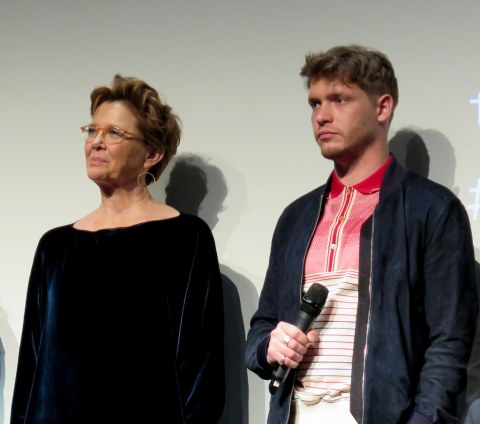 Annette Bening, Billy Howle,2018 Tribeca FF World Premiere Q & A,Annette Bening, Billy Howle,The Seagull, Anton Chekhov, Michael Mayer,