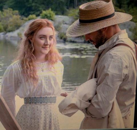 Saoirse Ronan, Corey Stoll, The Seagull, 2018 Tribeca Film Festival World Premiere