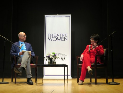 Chita Rivera in Conversation With Richard Ridge, League of Professional Theatre Women, NYPL for the Performing Arts at Lincoln Center