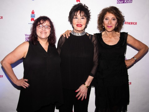 Lisa Mordente, Chita Rivera, Andrea Martin, Concert for America, The Great Hall, Cooper Union