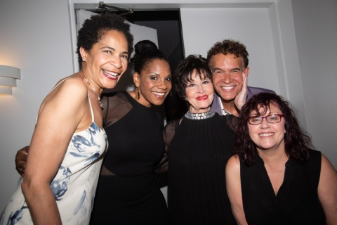 Allyson Tucker, Audra McDonald, Chita Rivera, Brian Stokes Mitchell, Lisa Mordente, Concert for America, The Great Hall, Cooper Union