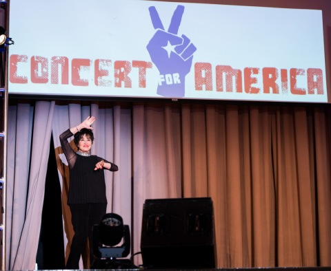 Chita Rivera, Concert for America, The Great Hall, Cooper Union