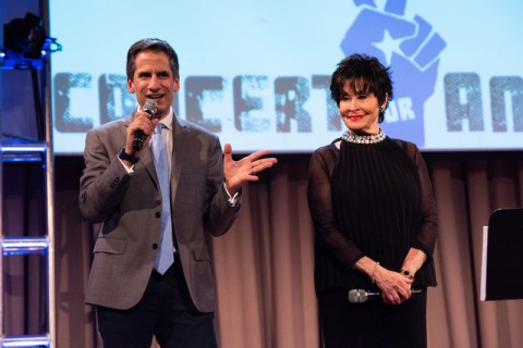 Seth Rudetsky, Chita Rivera, Concert for America, Cooper Union