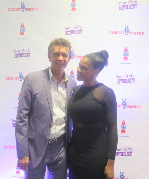 Brian Stokes Mitchell, Audra McDonald, Concert for America