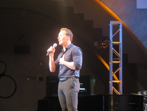 Patrick Wilson, Concert for America, The Great Hall, Cooper Union