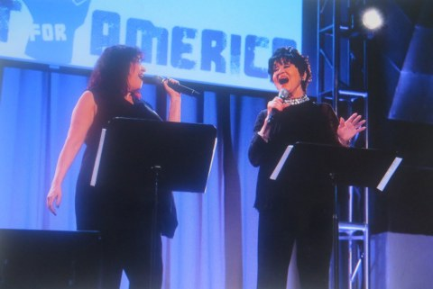 Conert for America, Lisa Mordente, Chita Rivera