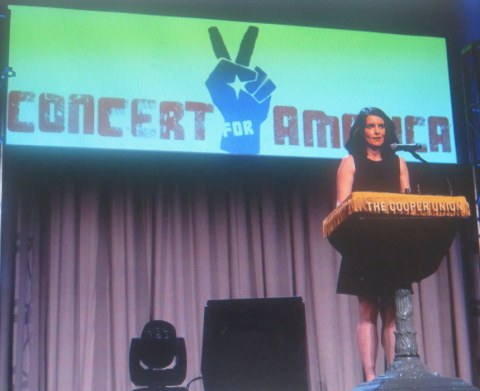 Tina Fey, Concert for America, Seth Rudetsky, James Wesley