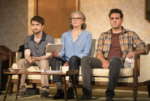 Daniel Radcliffe, Cherry Jones, Bobby Cannavale, The Lifespan of a Fact, Leigh Silverman